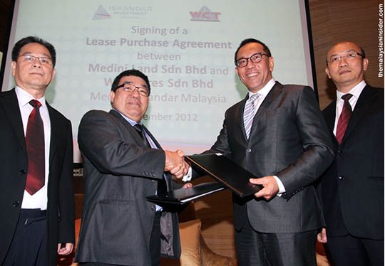 WCT sign deal for 1.5b Project in Iskandar