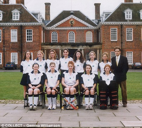 Kate Middleton at Marlborough College