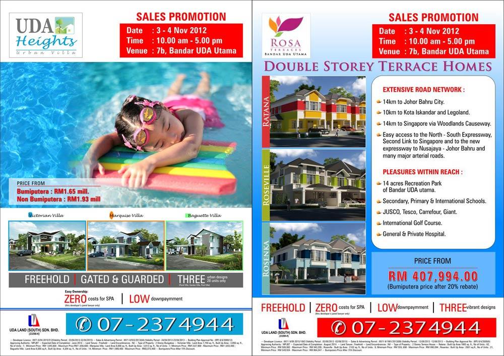 UDA Heights & Bandar UDA Utama Sales Promotion